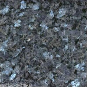 "Blue Pearl Granite Polished Tiles 12""x12"""