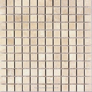 Marble Mosaic Botticino Cream