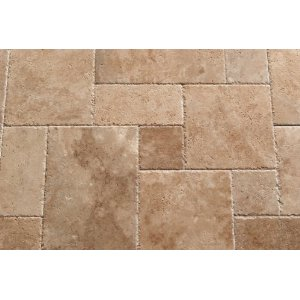 Walnut Travertine Roman Tile